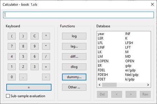 ابزار Calculator نرم افزار آکس متریکس