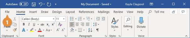نحوه ذخیره فایل در ورد - SaveAs