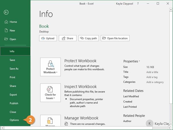 بازیابی فایل - تنظیمات بازیابی خودکار